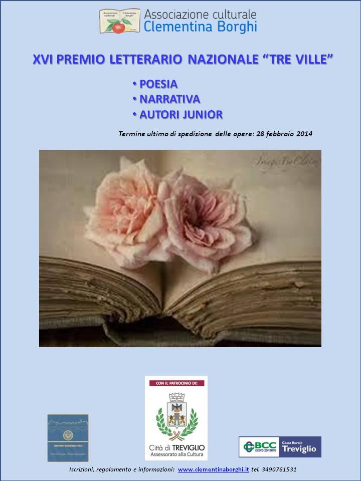 XVI concorso letterario Tre Ville