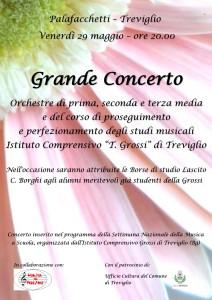 Concerto chiusura Grossi 29 maggio