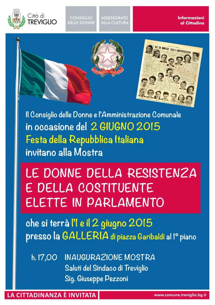 Mostra organizzata dal consiglio delle donne e comune di Treviglio