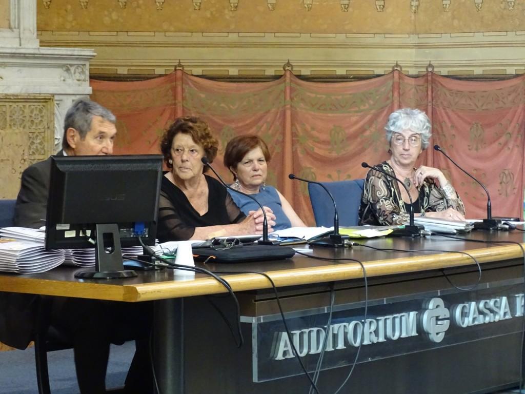 Carrellata fotografica dalla premiazione del XVII Tre Ville: la giuria e le lett-attrici