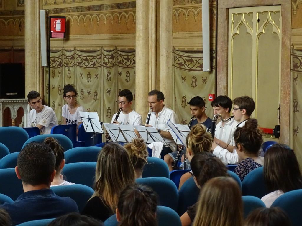 Carrellata fotografica dalla premiazione del XVII Tre Ville: l'orchestra della scuola Grossi