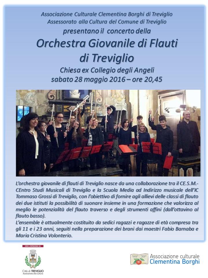 Concerto dell'Orchestra Giovanile di Flauti  di Treviglio
