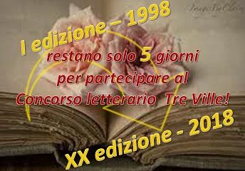 RESTANO SOLO 5 GIORNI PER PARTECIPARE AL TRE VILLE!!!