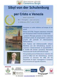 ridotta 2 Locandina per Cristo e Venezia S. v. d Schulenburg