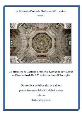 L'architetto Oggionni e gli affreschi del Santuario della B.V. delle Lacrime in Treviglio